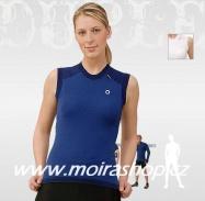 MOIRA Duplex dámské triko bez rukávu modré