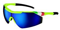 brýle SALICE 004ITA Yelllow/RW blue/trasparent