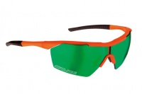 brýle SALICE 004RW Flo orange/multi.green/transp.