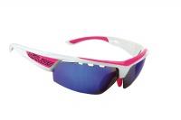 brýle SALICE 005RWB white-fuchsia/RW blue/transpar