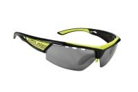 brýle SALICE 005RWB black-yellow/RW black/transpar