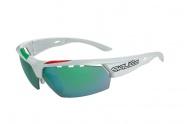 brýle SALICE 006ITA white/green/transparent