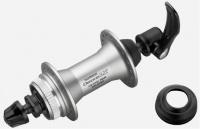 náboj SH přední LX M585 centerlock stříbrný 32H