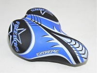 sedlo MONTE GRAPPA Jun.Speed Racing black/blue