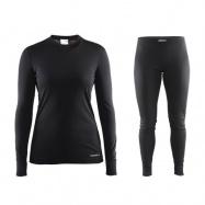 Akční set CRAFT Mix and Match dámské triko+sp černá