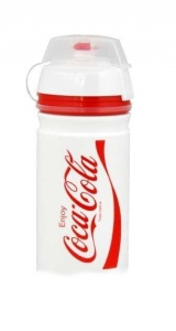 láhev ELITE 0,55l Corsa Coca Cola bílá