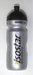 láhev ISOSTAR 0,65l stříbrno/černá sosák