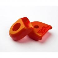 RACE FACE CRANK BOOT 2-pack, ochrana carbonových klik oranžová