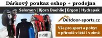 Dárkový poukaz 2000 Kč pro eshop Outdoor-sports.cz