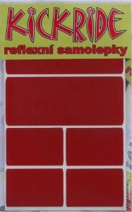 samolepka KICKRIDE reflexní barevná