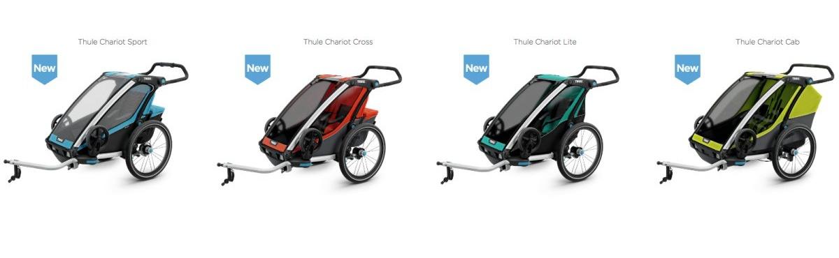 Vozíky Chariot Thule