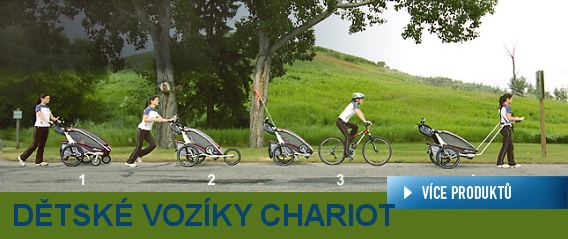 Dětské vozíky Charoit a Croozer